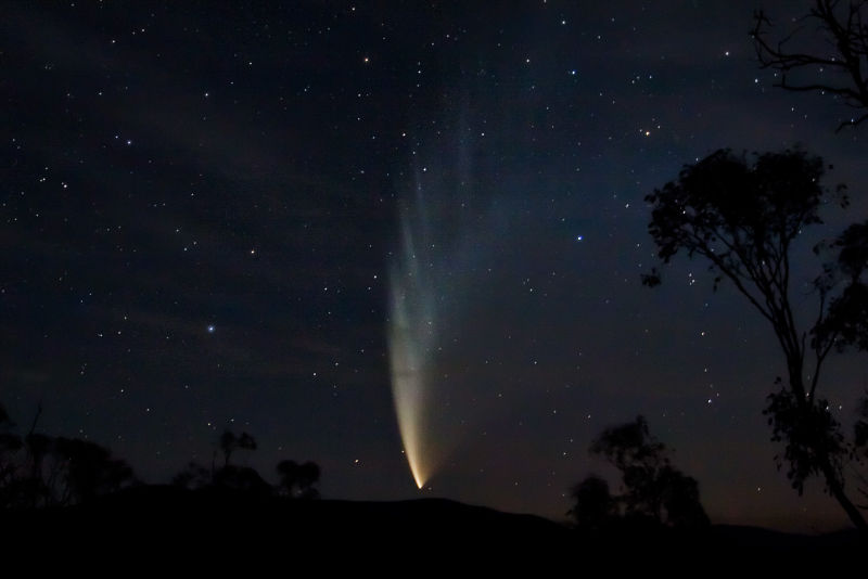 Comet McNaught image source AAT siding spring.